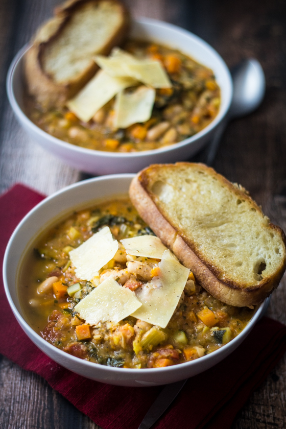 Tuscan Bean Soup by The Wanderlust Kitchen