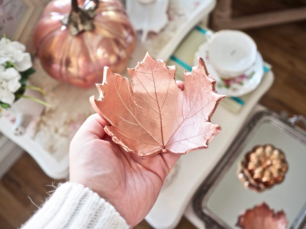 Clay DIY Leaf Dish