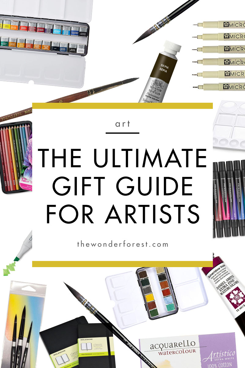 The Ultimate Gift Guide for Artists!