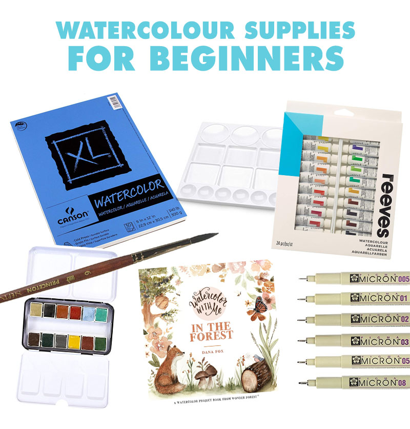 Watercolor Gift Guide for Beginners