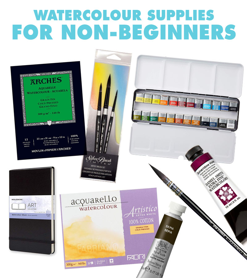 Watercolor Gift Guide for Non-Beginners