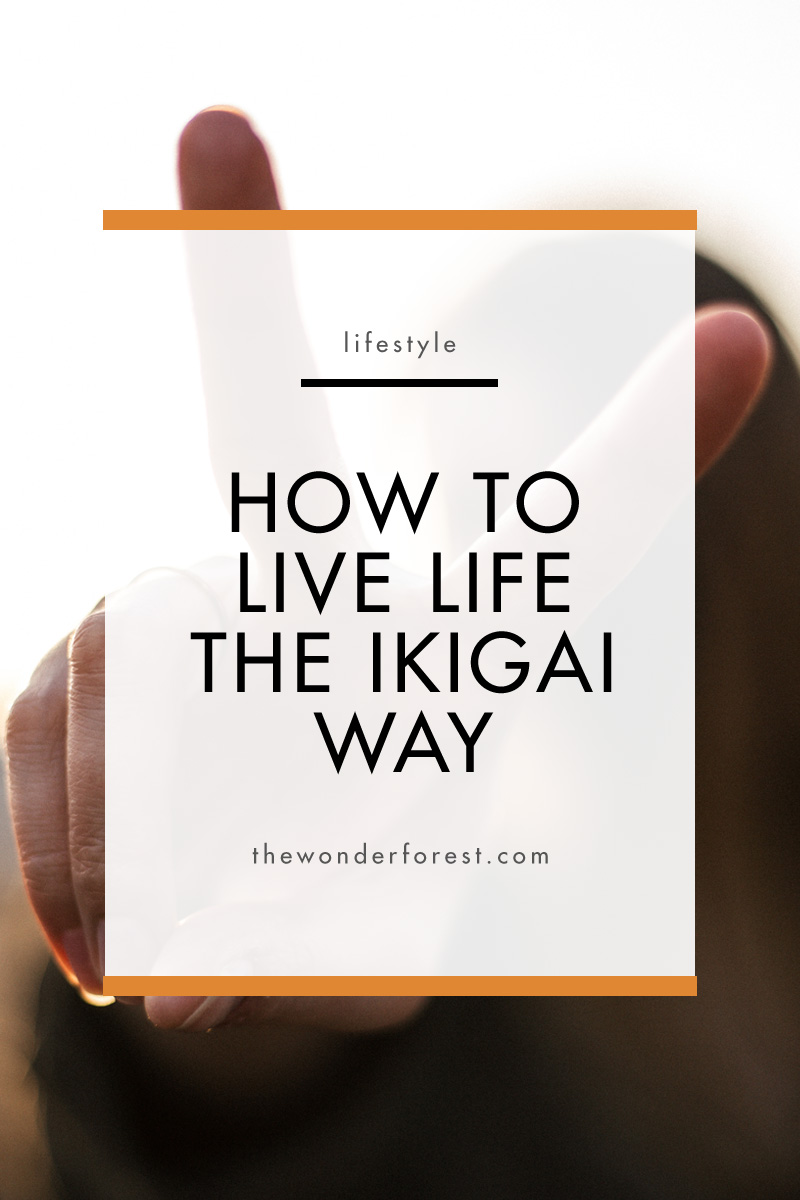 How to Live Life the Ikigai Way