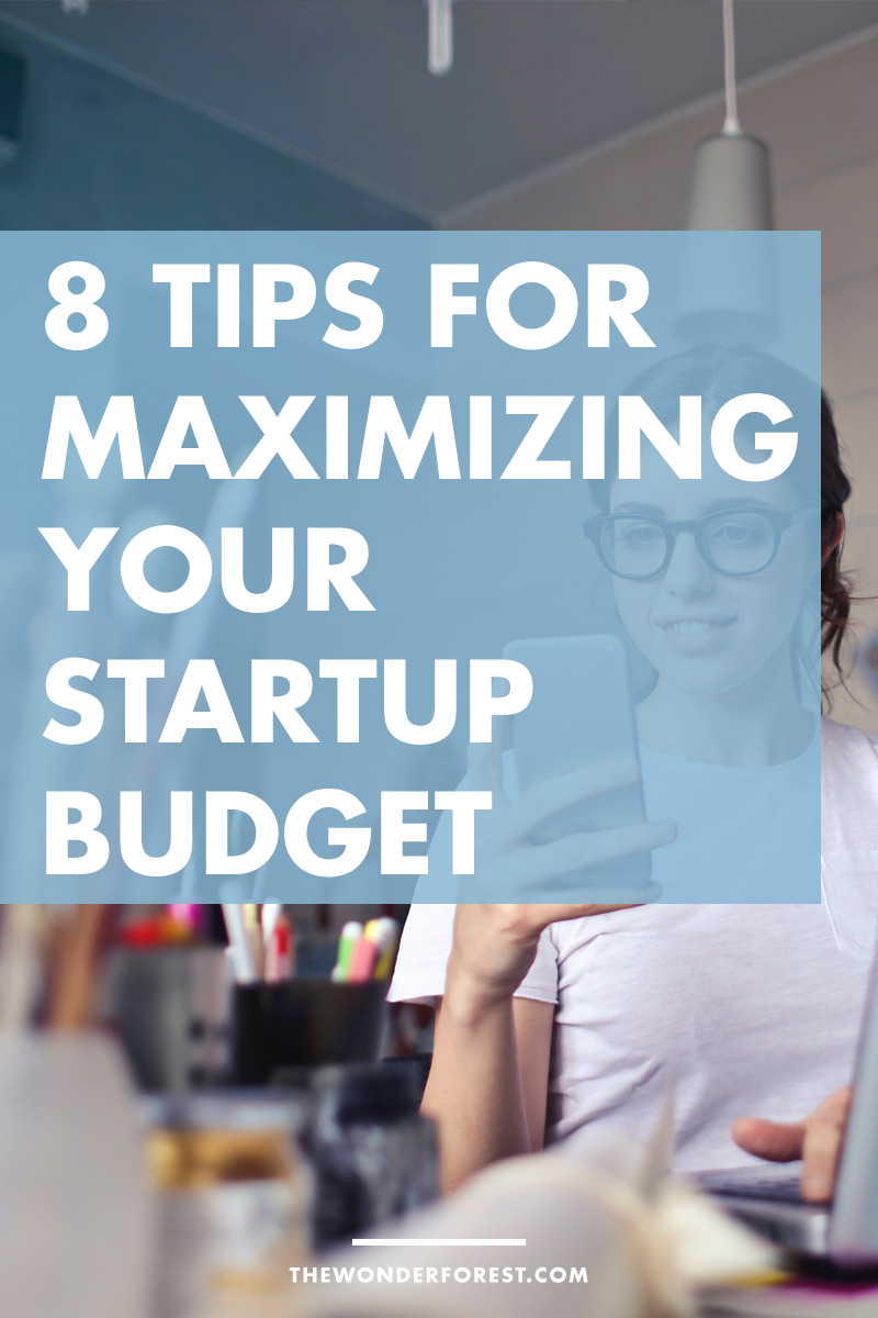 8 Tips For Maximizing Your Start-up Businesses' Budget