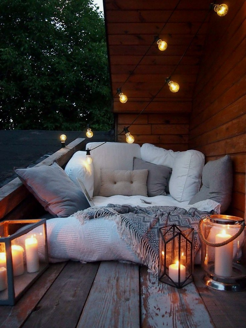 Cozy Outdoor Seating