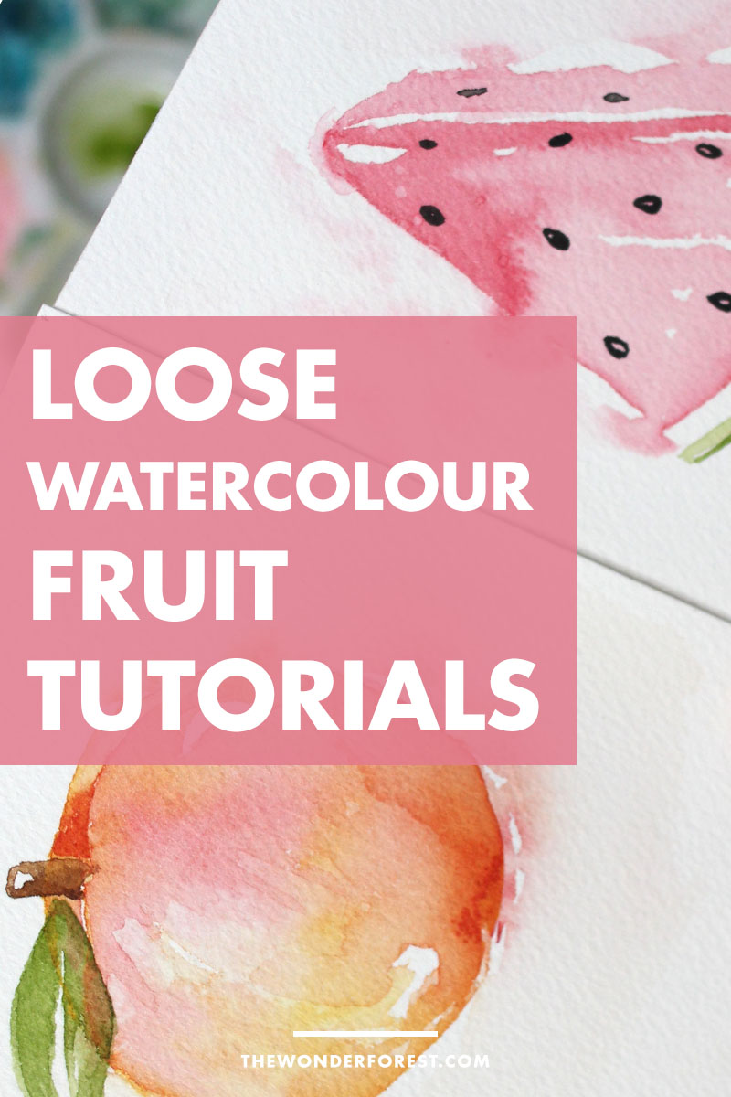 Loose Watercolor Tutorials