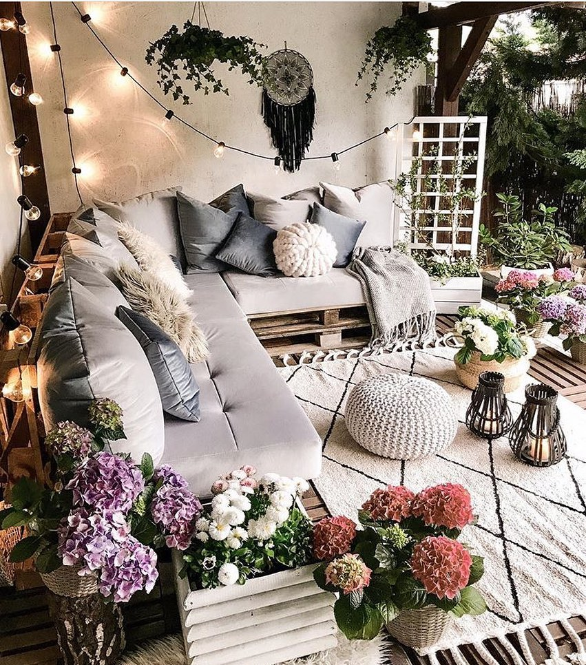 Dreamy Outdoor Patio
