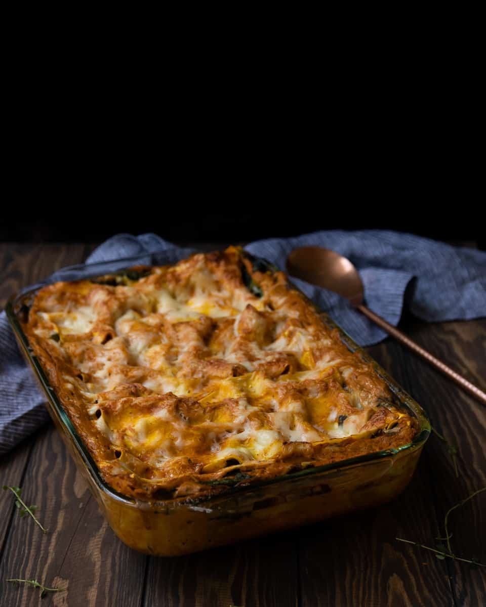 5 Comfort Vegetarian Recipes To Taste This Fall: Pumpkin Lasagna