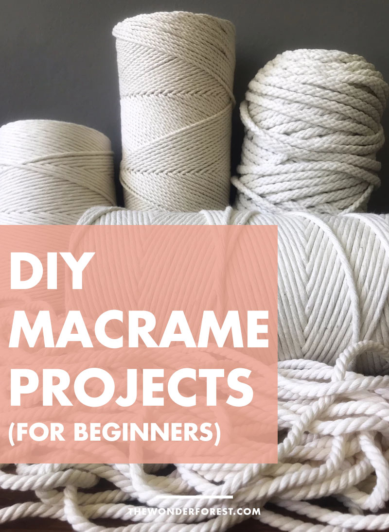 Beginner Friendly DIY Macrame Projects