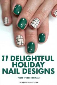 Delightful Holiday Nail Designs