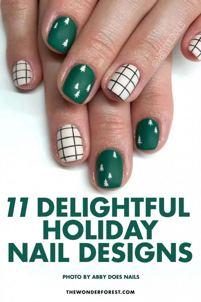 Delightful Holiday Nail Designs