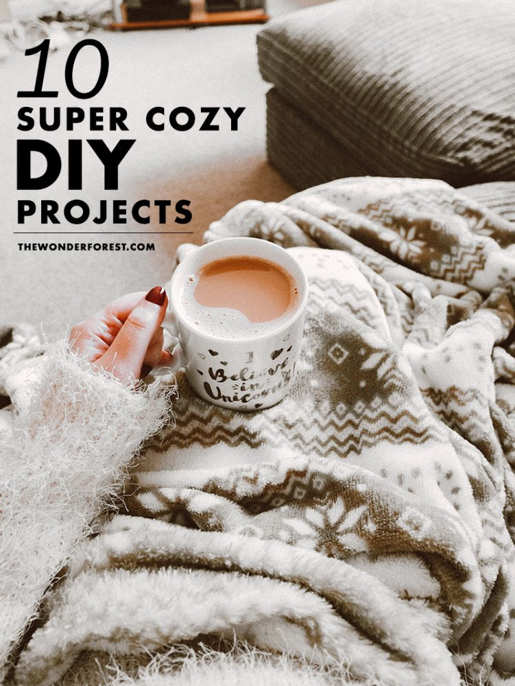 10 Super Cozy DIY Projects