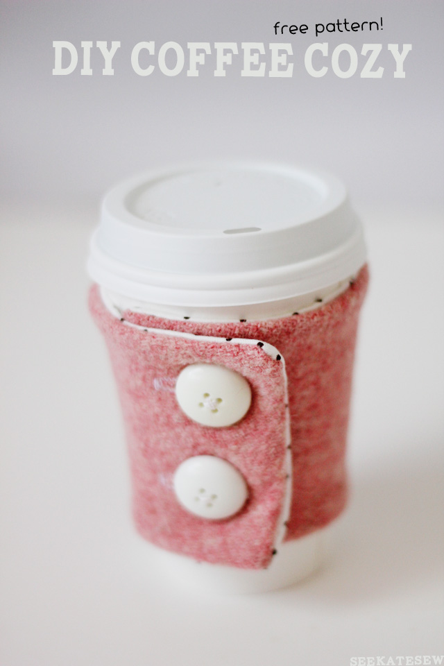 DIY Coffee Cozy Pattern