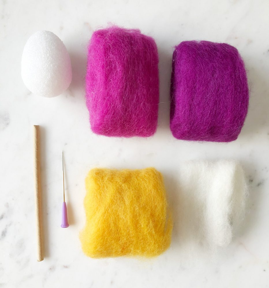 How To Make Colourful Felted Lollipops