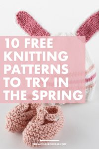 10 FREE Knitting Patterns to Try This Spring