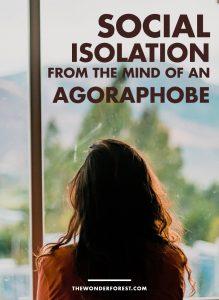 Social Isolation From An Agoraphobe