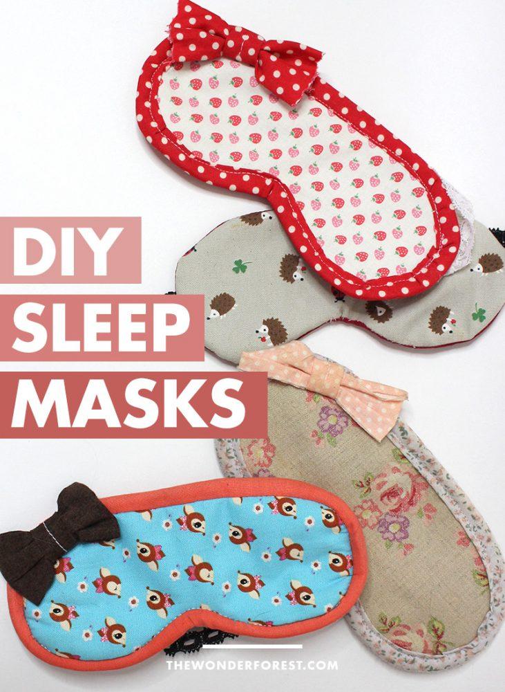 DIY Sleep Masks