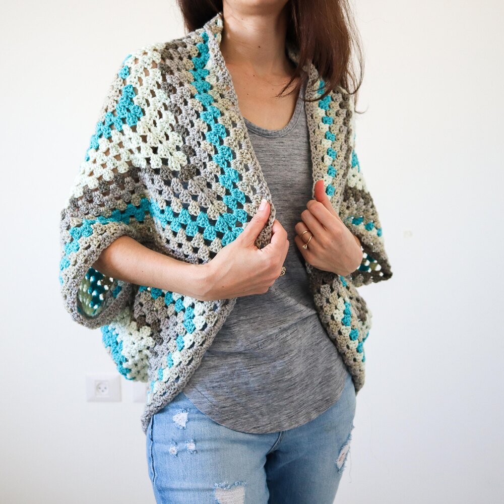 10 Free Summer Crochet Patterns - Continuous Granny Square