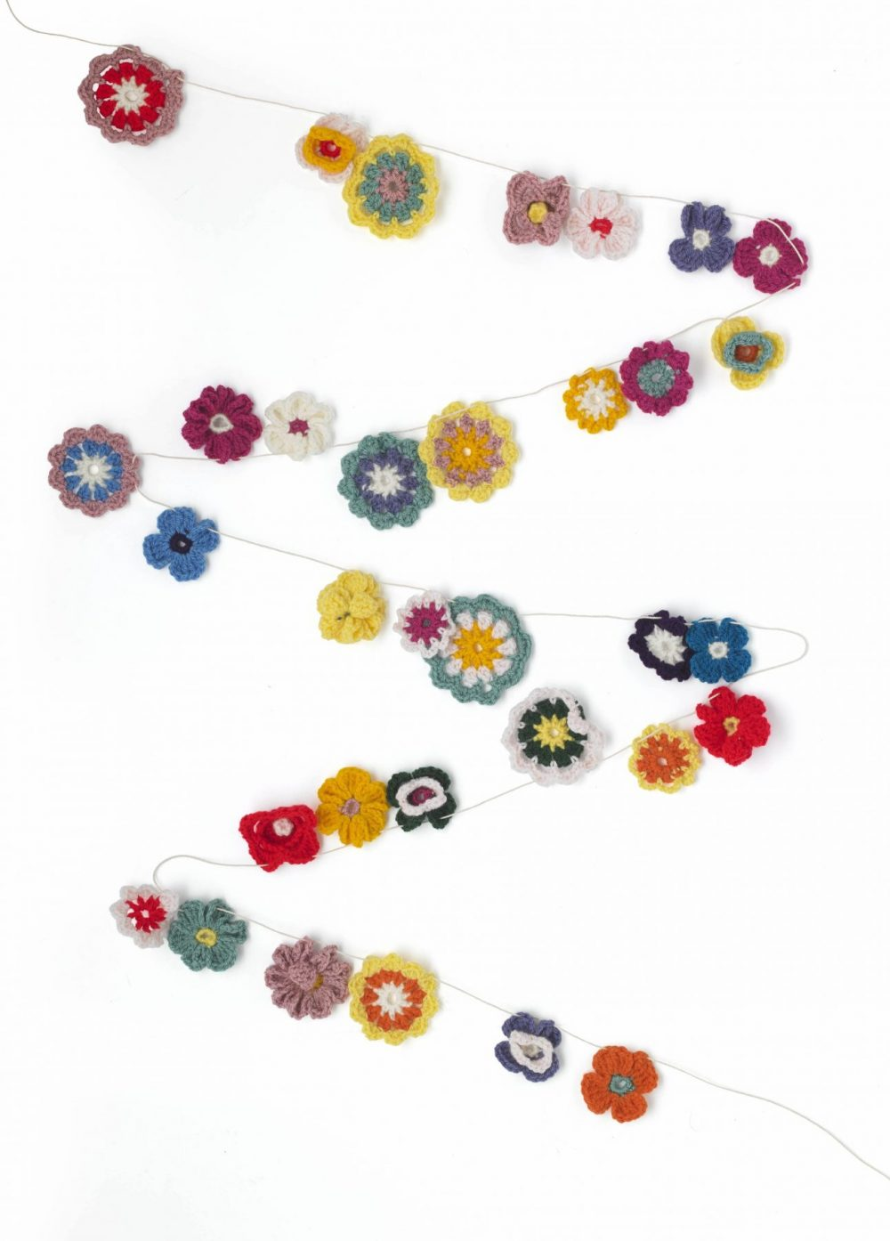10 Free Summer Crochet Patterns - Garden Garland