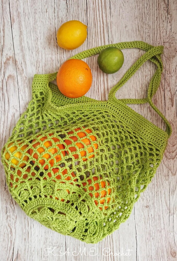 10 Free Summer Crochet Patterns - Sakura Market Bag