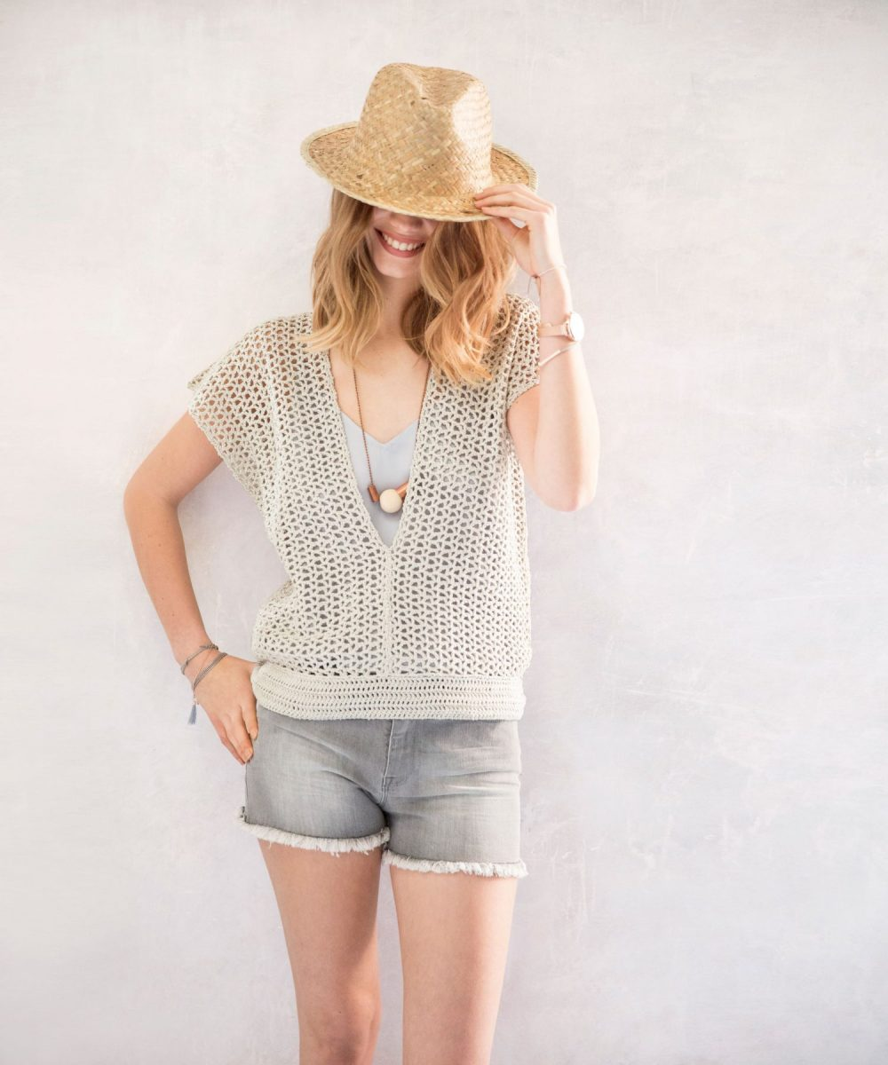 10 Free Summer Crochet Patterns - Women's Sweater
