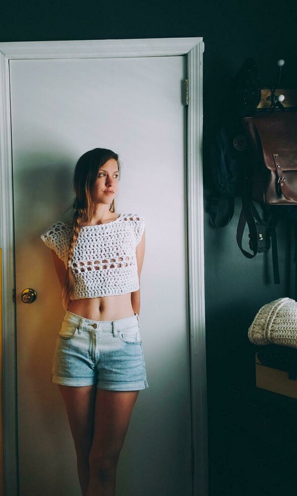 10 Free Summer Crochet Patterns - Threefold Boho Top