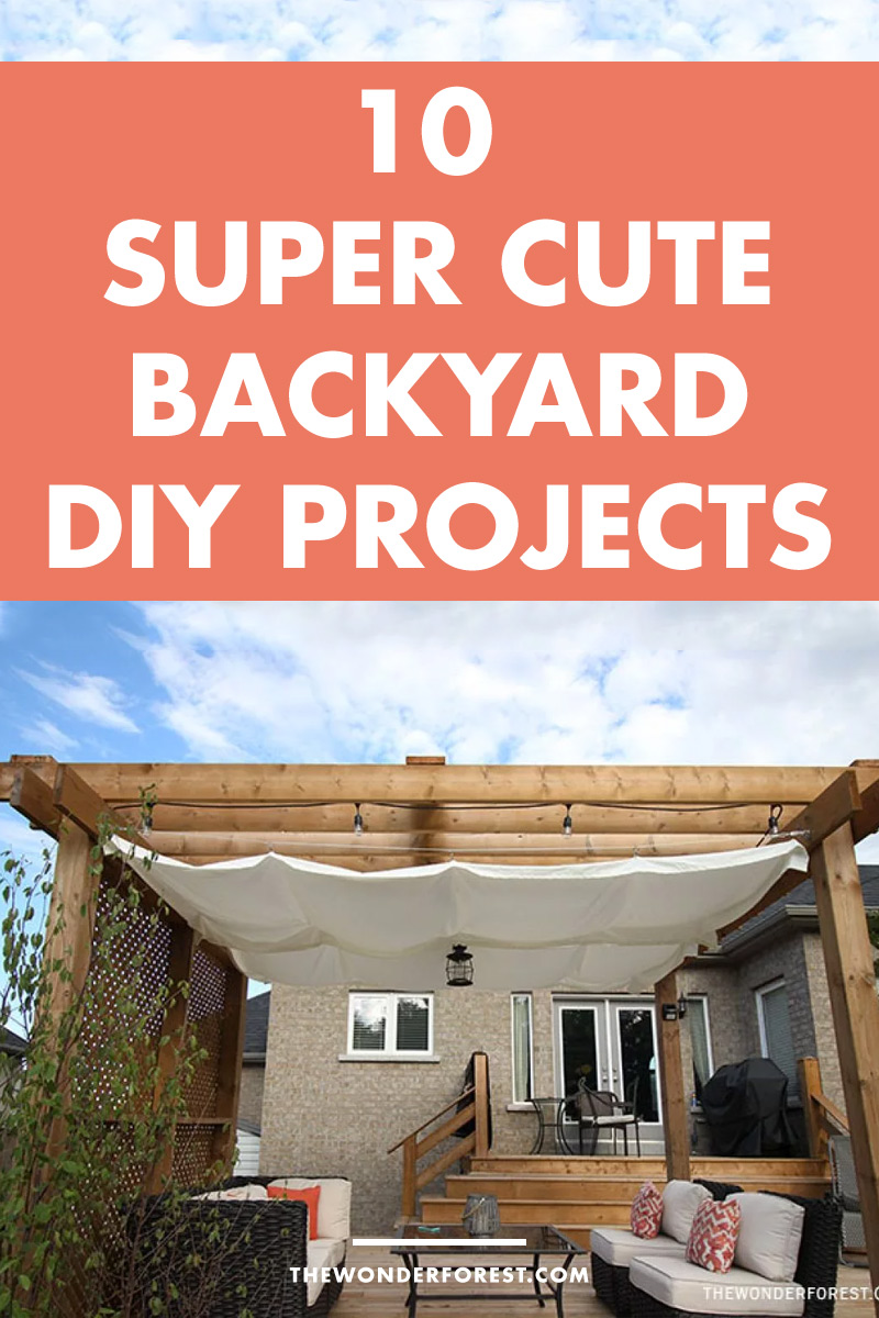 10 Super Cute DIY Ideas For Your Backyard