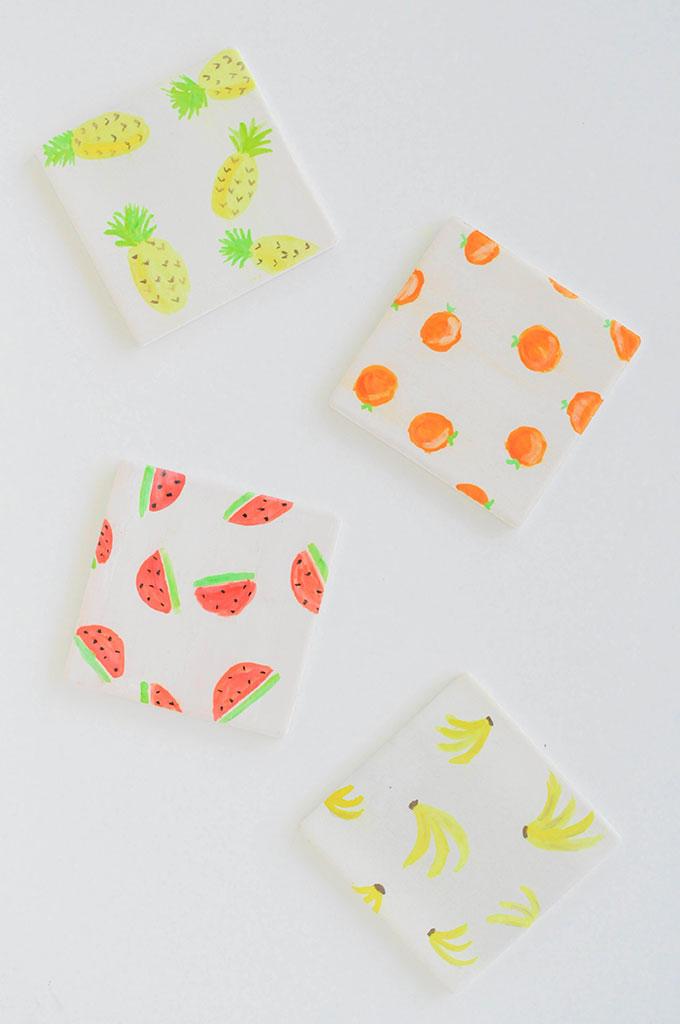 10 fruchtige DIYs vor dem Ende des Sommers