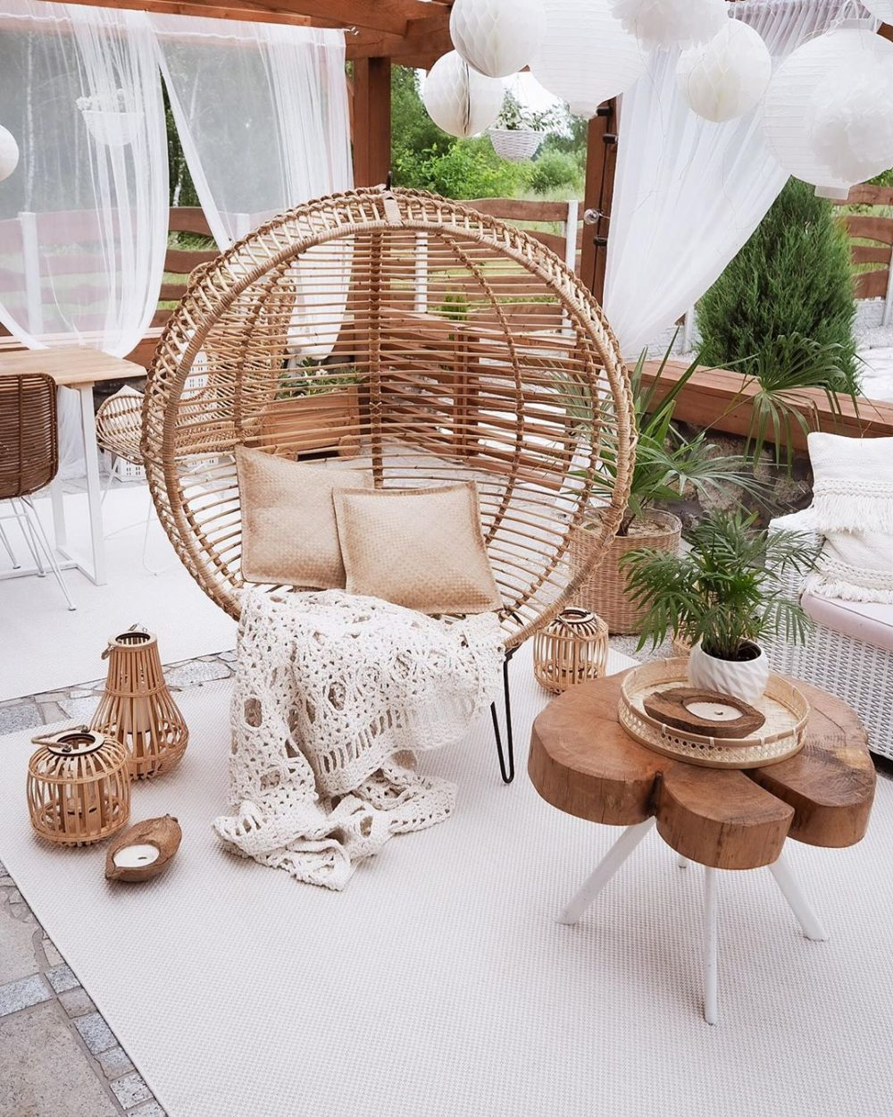 Boho Outdoor Decor