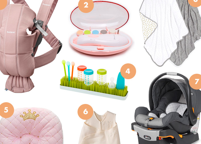 Top 10 Most Used Baby Products from Amazon