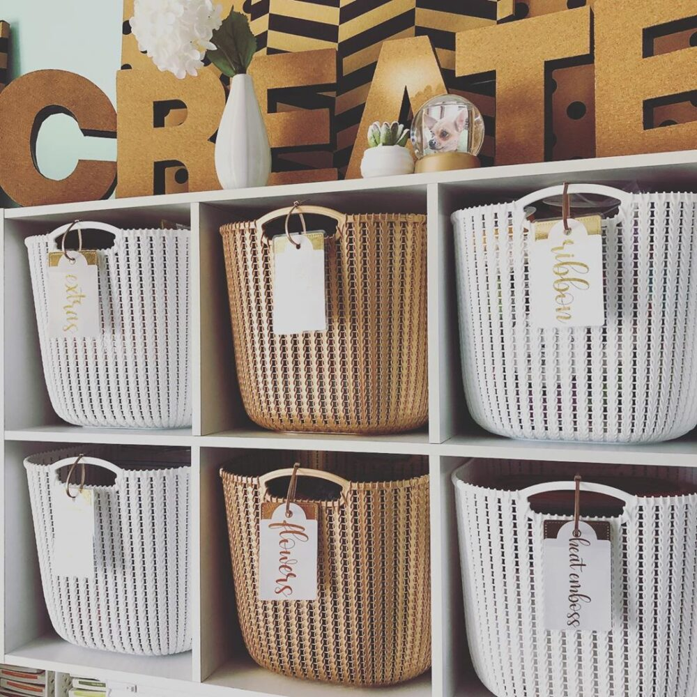Craft Bins DIY