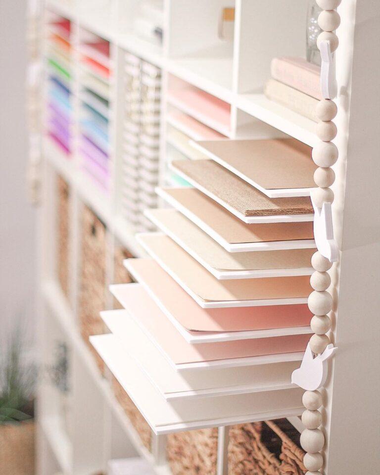 Foam Board Paper Storage
