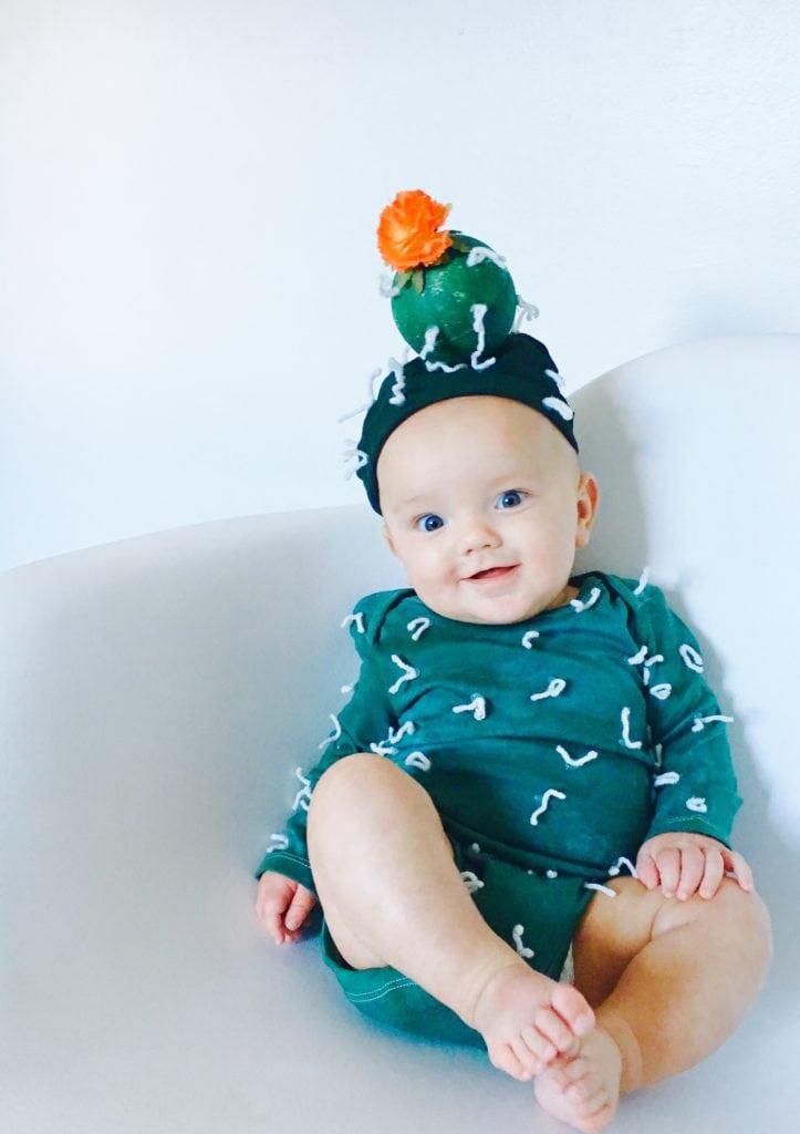 DIY Baby Cactus Costume