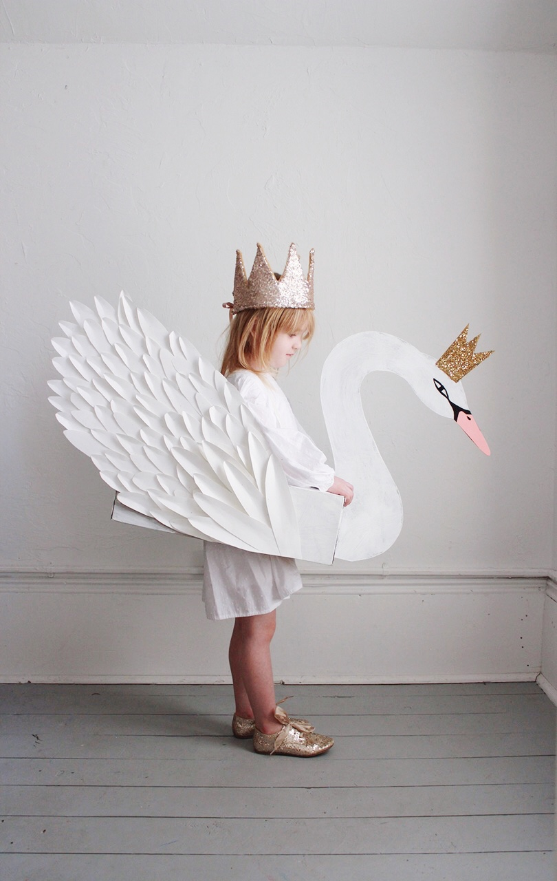 DIT Kids Swan Costume