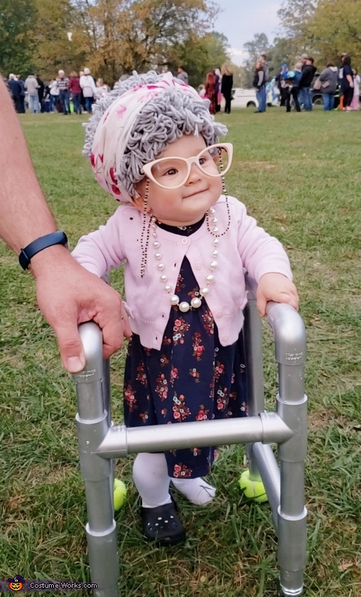 Great Granny Baby Costume
