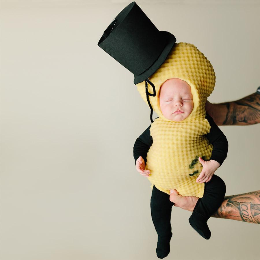 Mr Peanut Baby Halloween Costume