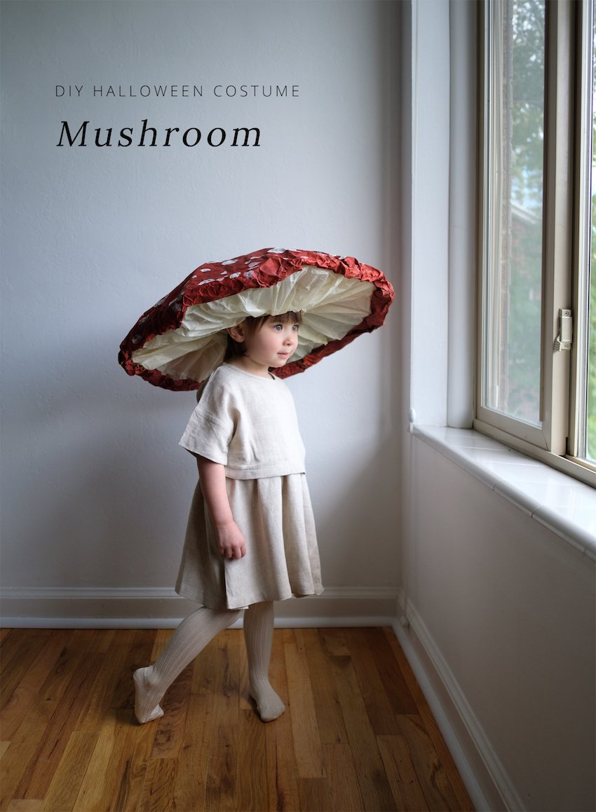 Mushroom Costume for Kids
