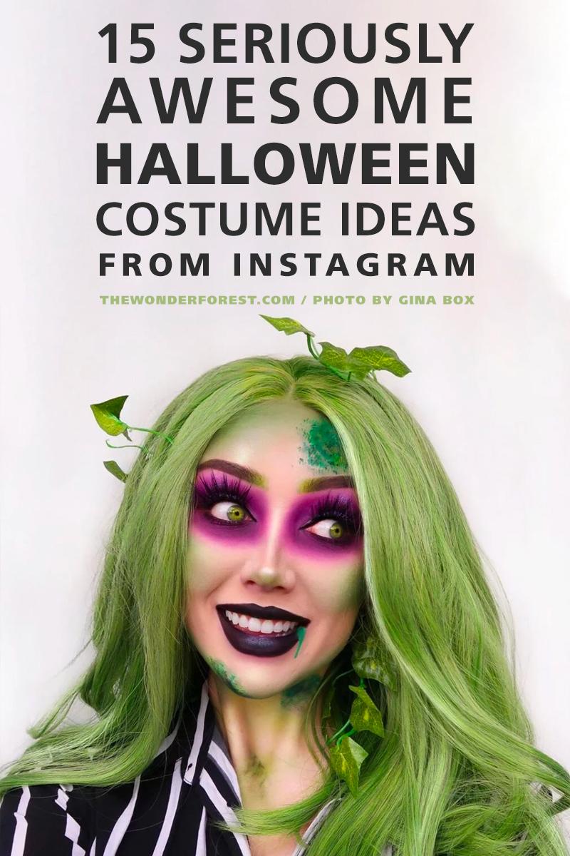 15 wirklich großartige Halloween-Kostümideen von Instagram