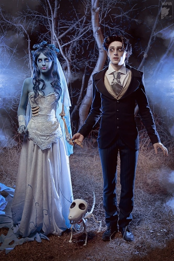 Corpse Bride Cosplay Costumes