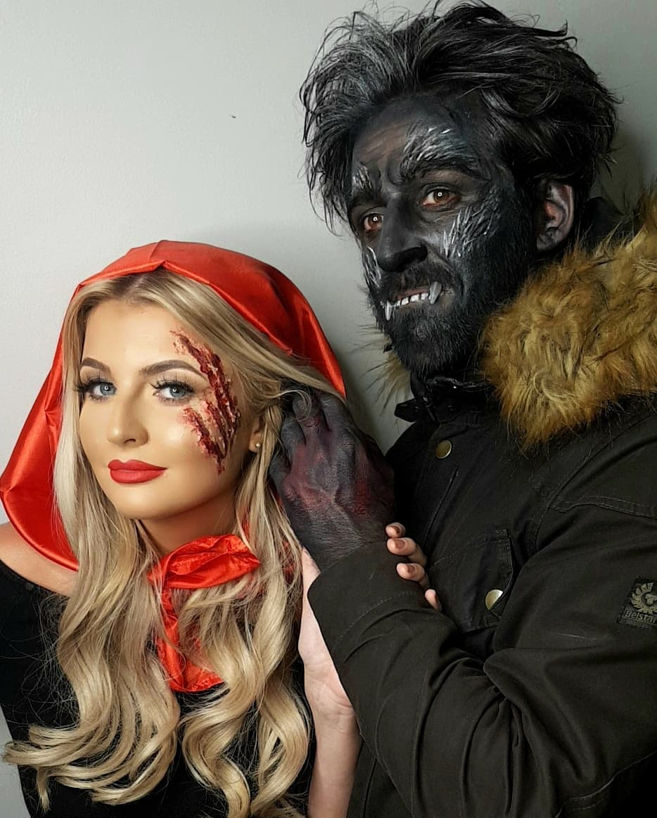 Little Red Riding Hood and Wolf Couples Costume