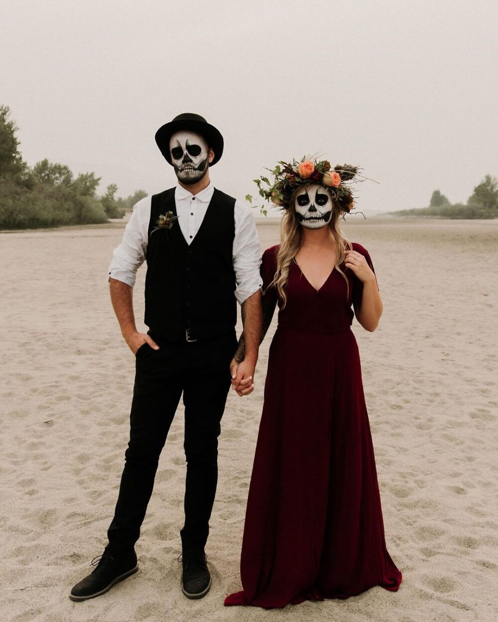 Day of the Dead Couples Costume