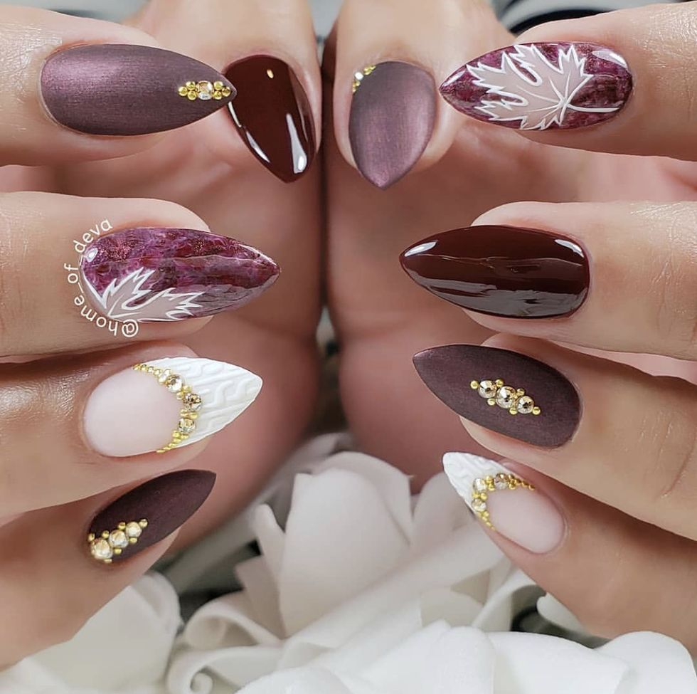 10 of the Trendiest Nail Art Ideas for Autumn 2020