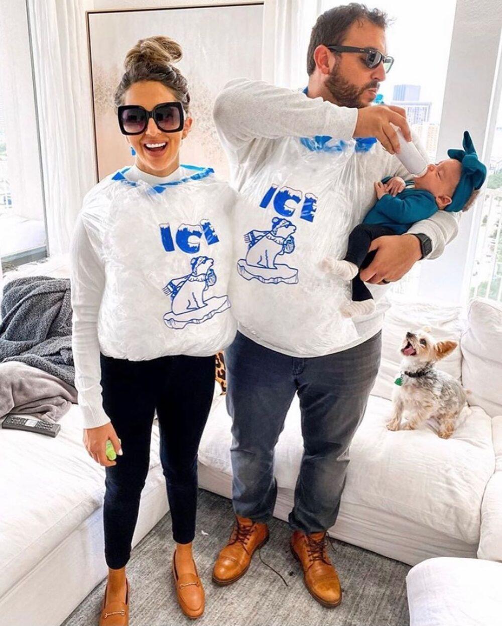 Ice Ice Baby Couples Halloween Costume
