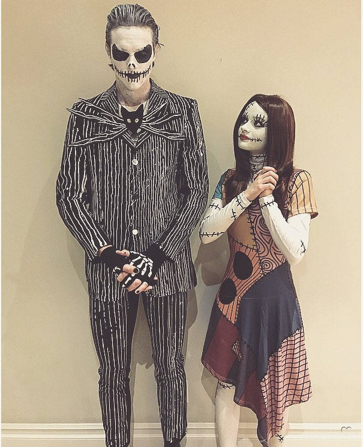 Nightmare Before Christmas Couples Costume