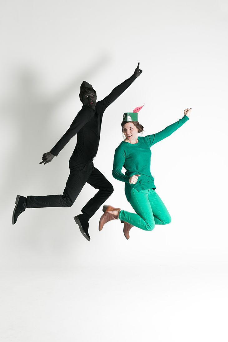 Peter Pan and Shadow Couples Costume