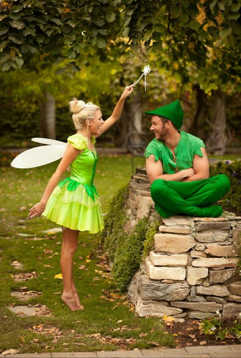 Tinkerbell and Peter Pan Costumes