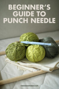 Beginner's Guide to Punch Needle