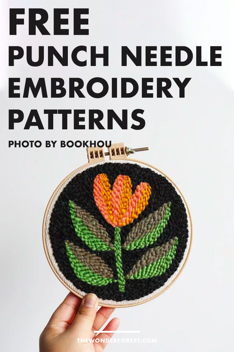 Free Punch Needle Embroidery Patterns