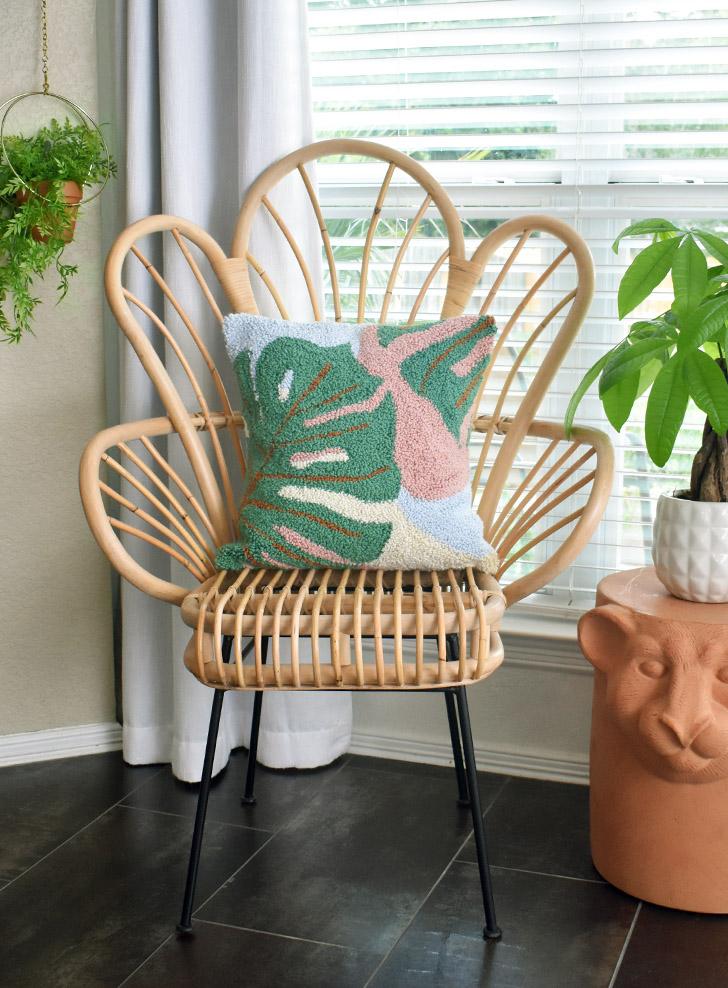 15 einfache DIY Punch Needle Home Decor Projekte