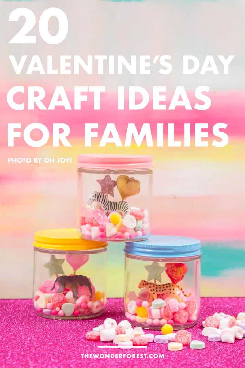 20 Valentinstag Basteln für Familien