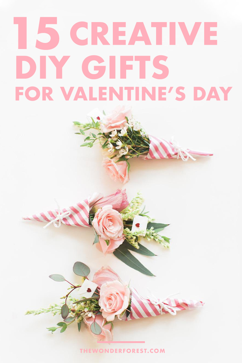 15 DIY Valentine's Day Gift Ideas for Your Significant Other